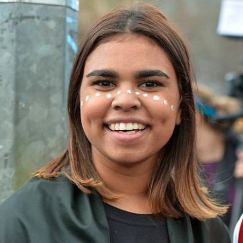 Young Australian Aboriginal Woman